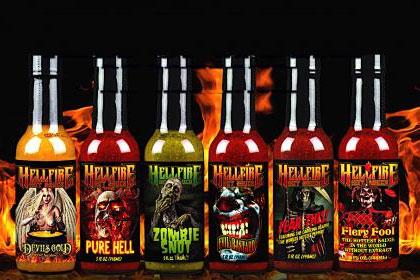 Helfire Hot Sauce